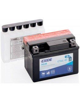 Batéria Exide ETX4L-BS (85x70x113 mm)