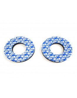Zap grip donuts penové krúžky na gripy modré