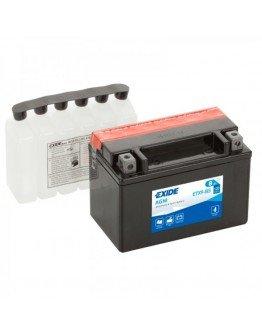 Batéria Exide ETX9-BS (105x87x150)