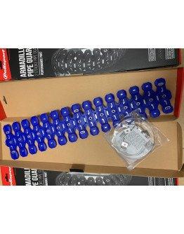 Chránič výfuku Polisport Armadillo modrý