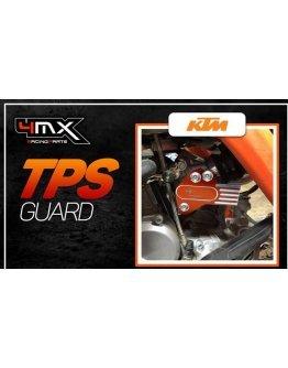 Chránič vstrekovača paliva KTM EXC 150/250/300 TPI,Husqvarna TE 150/250/300 TPI ,čierny