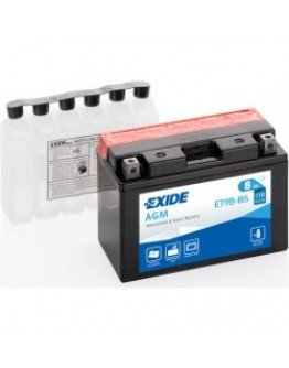 Batéria Exide ET9B-BS (105x70x150 mm)