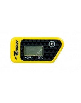 Merač motohodín bezdrôtový/vibračný žltý