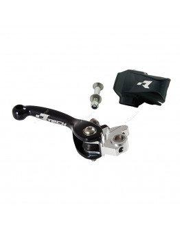 Brzdová páčka výklopná R-tech čierna Honda CR 92-/CRF 04-06,RM,KX,GAS-GAS,BETA