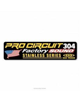 Nálepka na výfuk Pro Circuit 304 2T
