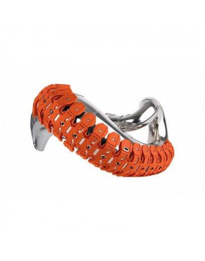 Chránič výfuku Polisport Armadillo oranžový
