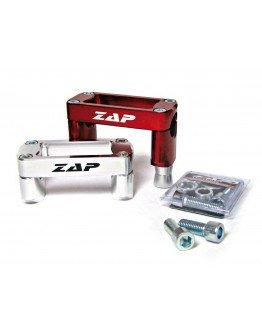 Držiaky riadidiel Zap KXF 250/450 2006-2011 strieborné