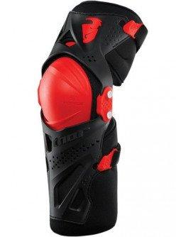 Kĺbové chrániče kolien Thor Force XP red